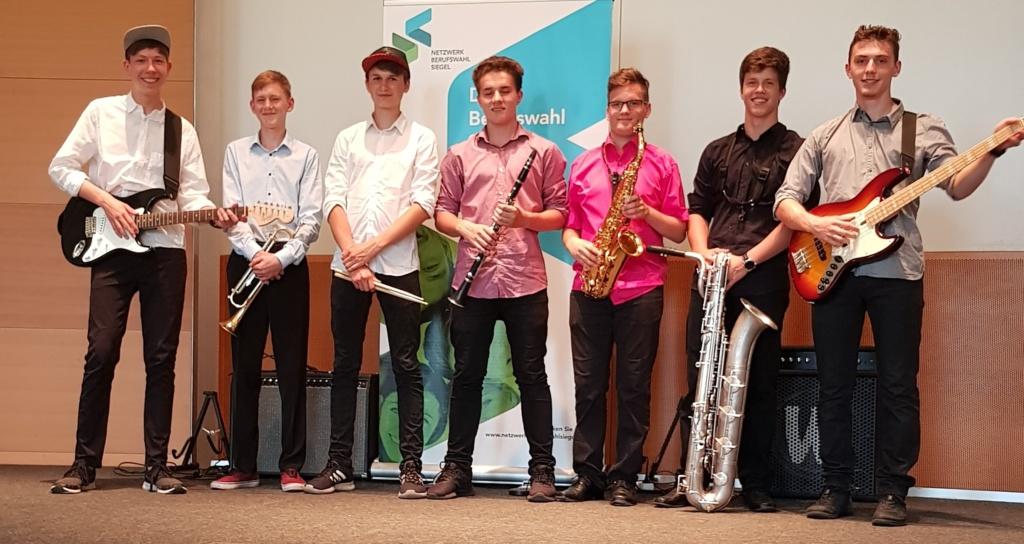 "Big Boys der musikbetonten Gesamtschule ""Paul Dessau"" Zeuthen"